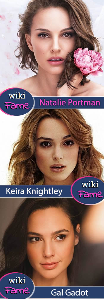 Natalie Portman celebs looking like her: Gal Gadot and Keira Knightley